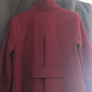 Calvin Klein Jackets & Coats - Beautiful wine coat by Calvin Klein